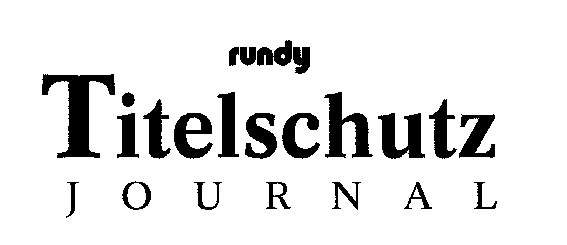 Titelschutz-Journal